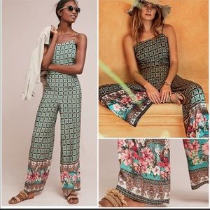 Anthropologie Farm Rio Jumpsuit
